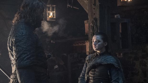 Arya Stark se reencuentra con el Perro