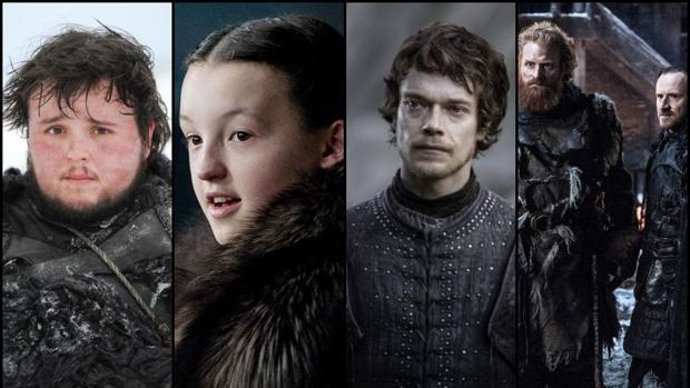 Samwell Tarly, Lyanna Mormont, Theon Greyjoy, Tormund y Edd han protagonizado varias escenas clave del primer episodio de la octava temporada de «Juego de Tronos»