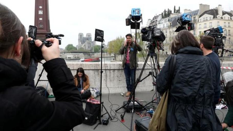 La televisión dimitió en Notre Dame