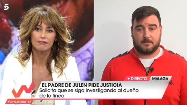 Emma García entrevista al padre de Julen en «Viva la Vida»
