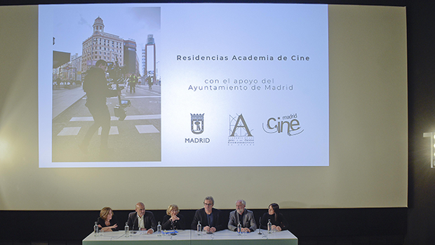 Presentación del Programa Residencias en la Academia de Cine