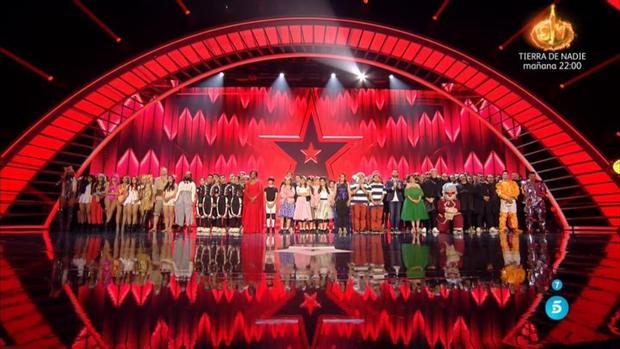La final de «Got Talent», desde plató: El corazón vence a los músculos