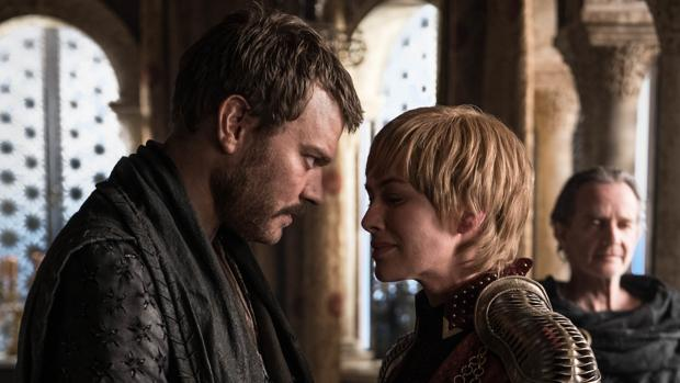 Cersei, junto a Euron Greyjoy en «Juego de Tronos»