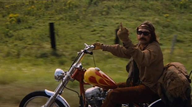 Dennis Hopper en «Easy Rider (Buscando mi destino)»