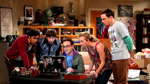 El elenco de «The Big Bang Theory»