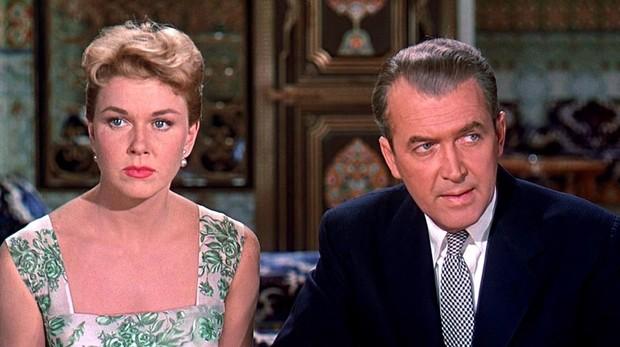 Doris Day y James Stewart