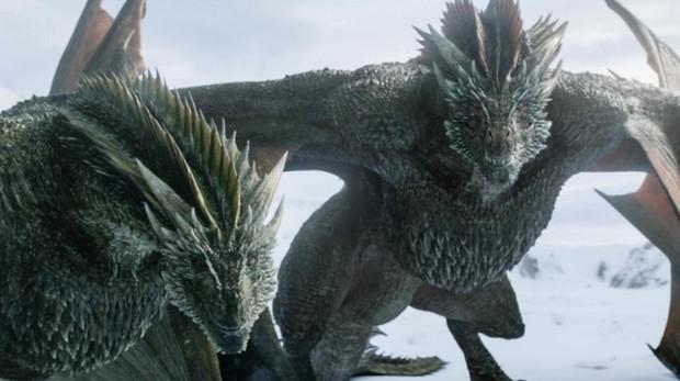 Los dragones de Juego de Tronos