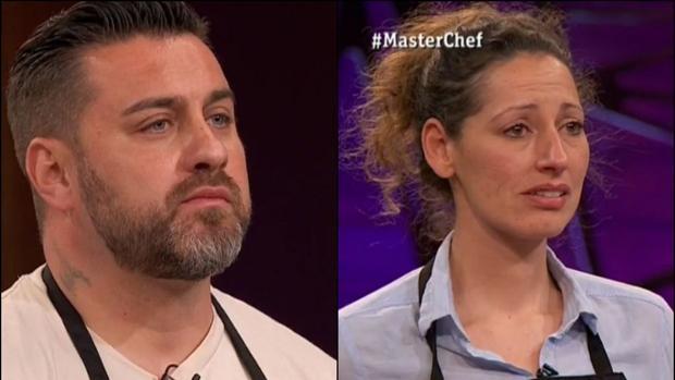 Marcos y Gloria, expulsados de «MasterChef»