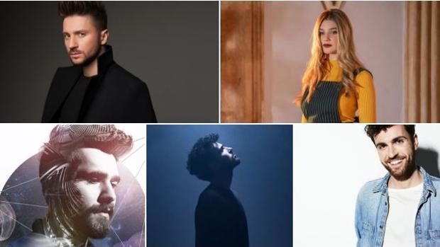 Algunos de los favoritos de la segunda semifinal de Eurovisión