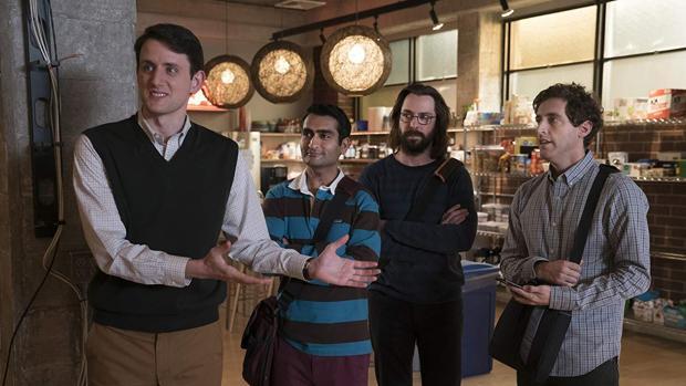 Los protagonistas de «Silicon Valley»