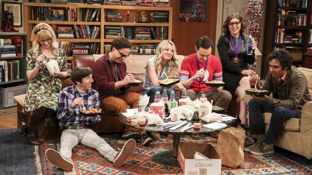 Uno de los fotogramas finales de «The Big Bang Theory»