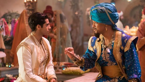 Fotograma de «Aladdin», con Will Smith como el Genio