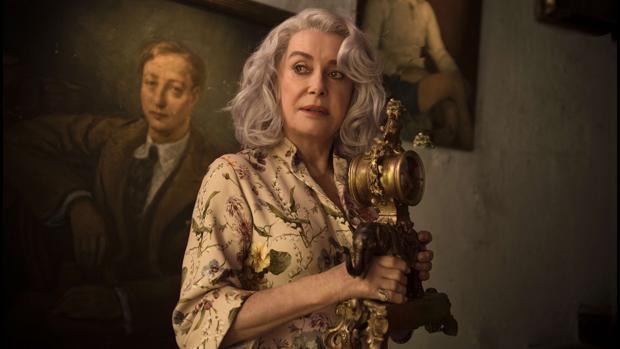 Catherine Deneuve, en «La última locura de Claire Darling»