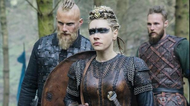 Los protagonistas de «Vikingos»