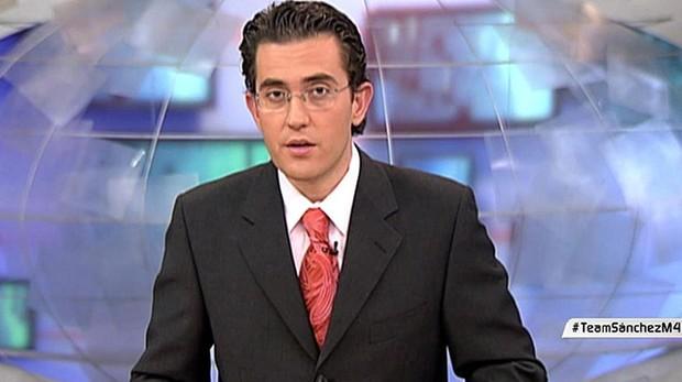 Màxim, ahora Máximo, Huerta, en Informativos Telecinco