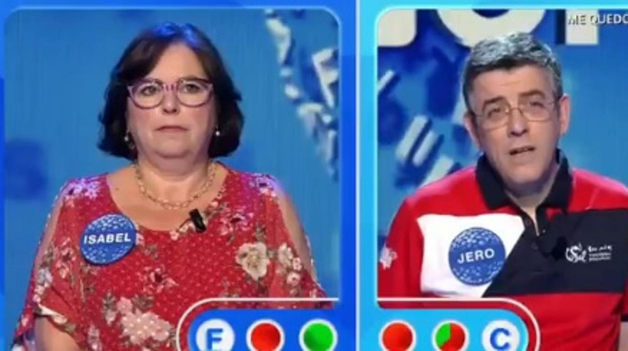 Pasapalabra: Salta la sorpresa: Jero, eliminado en