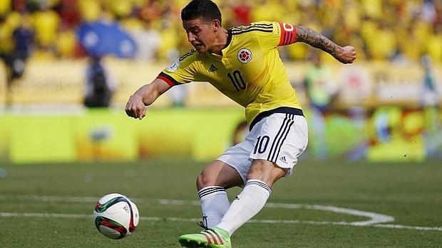 James brilló con Colombia y se quejó de su situación en el Madrid