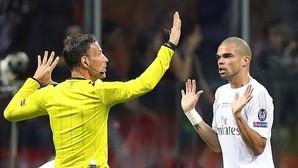 Pepe, ante Clattenburg