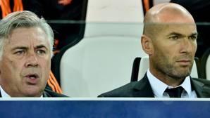 Zidane: «Me río de las bolas calientes»