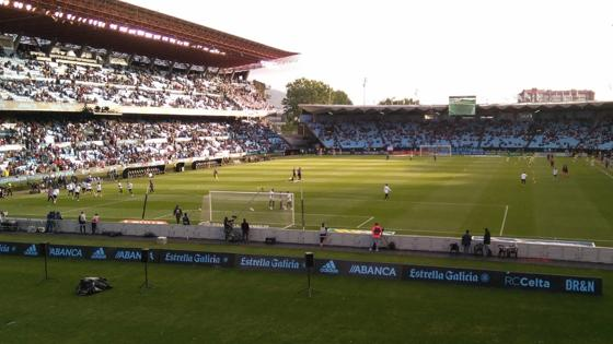 Así luce ahora mismo el estadio de Balaídos