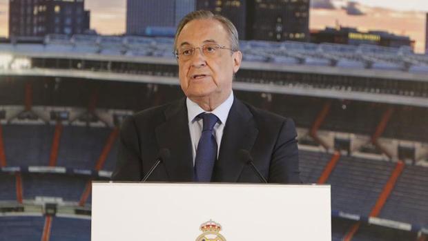 Florentino Pérez:  «Queremos un Real Madrid moderno pero con nuestros valores de siempre»