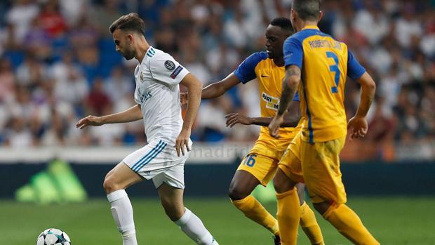 Champions League:  Borja Mayoral, sobre su debut en Champions: «Es un día que queda marcado en mi carrera»