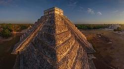 Imagen aérea del Chichén Itzá