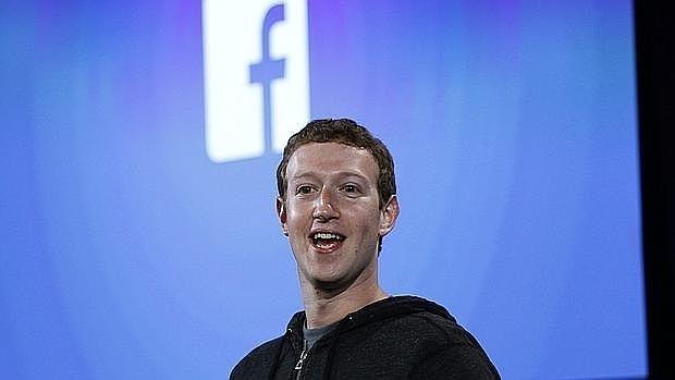 Fundador de Facebook, Mark Zuckerberg