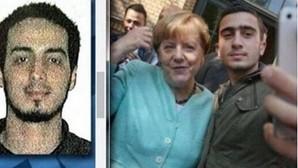 El falso «selfie» de Merkel con uno de los terroristas de Bruselas incendia Twitter