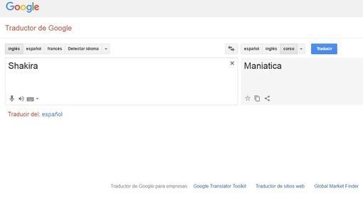 Google traductor trolleo a Shakira -1