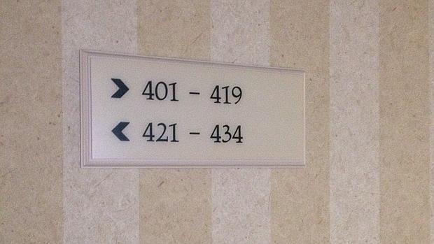 No es el único número del que huyen los hoteles: apunten el 13 o el 237