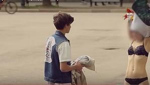Fotograma de uno de los vídeos del adolescente ruso