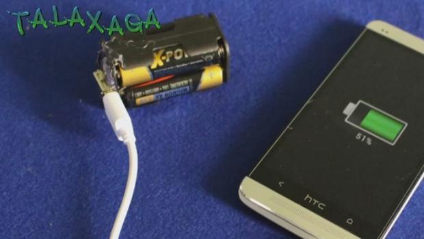 Así se crea una batería externa para el smartphoneen pocos minutos