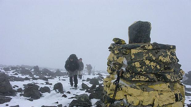 Cima del monte Halti