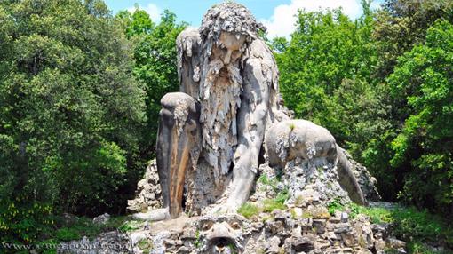 «Appennine Colossus», de Giambologna