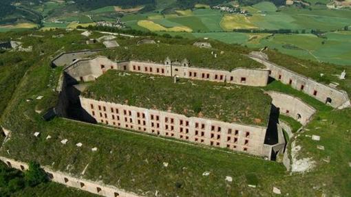 Vista aérea del Fuerte de San Cristóbal