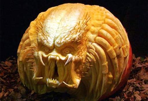 Diez calabazas decoradas en Halloween que te sorprendern