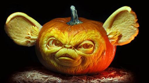 Diez calabazas decoradas en Halloween que te sorprenderán