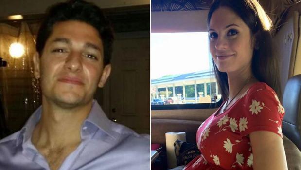 Ron Ozer y Elmira Naymark, en imágenes de Facebook