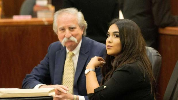 Vera, durante el juicio
