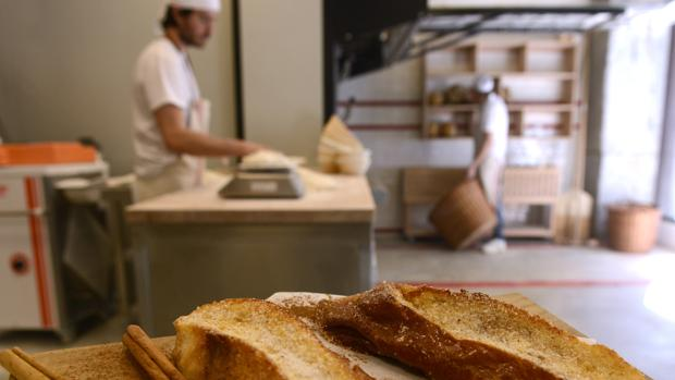 Panadería-pastelería Panod, en la calle de Prim de Madrid