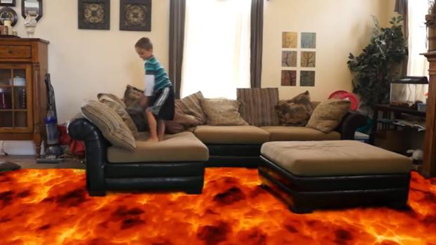 Nuevo reto viral: el «suelo es lava»