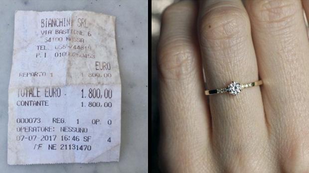10c9de4f69c6 La mujer que humilló a su prometido por comprarle un anillo demasiado « barato»