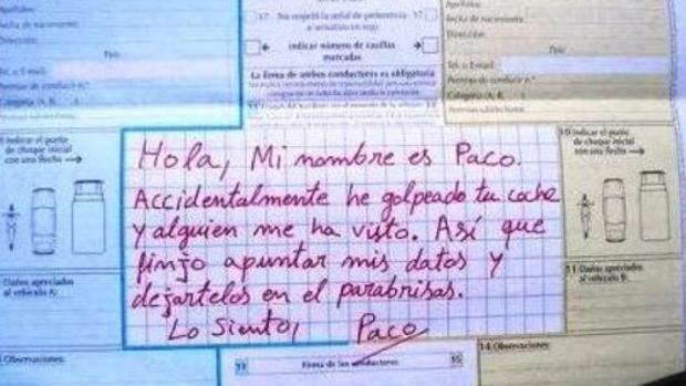 «No me seas Paco» , el mensaje de la Guardia Civil en Twitter