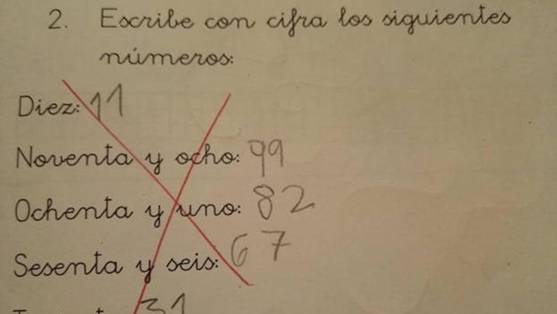 Twitter: El examen que ha dado la vuelta a España: ¿Es correcta la respuesta de este niño?