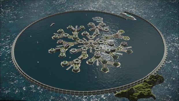 Resultado de imagen para Así será la primera nación flotante: se ubicará en el océano Pacífico