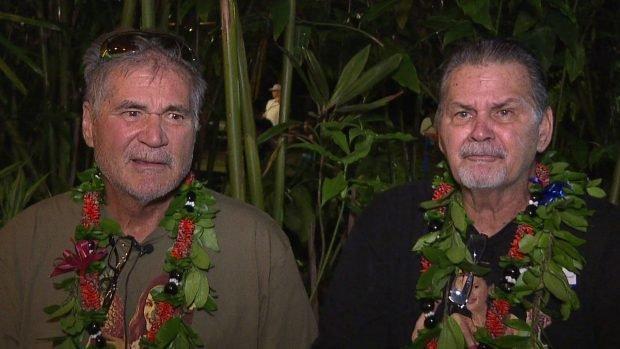 Alan Robinson y Walter Macfarlane descubrieron que eran hermanos tras 60 años de amistad