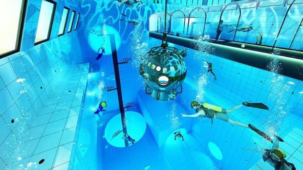 «Deep Spot» promete convertirse, por ahora, en la piscina más profunda del mundo