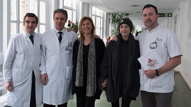 La lucha de Ari contra la leucemia