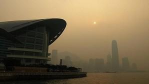 Contaminación en la ciudad de Hong Kong
